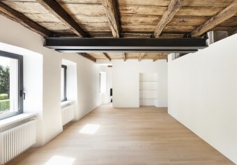 Timber treatment for wood ceiling